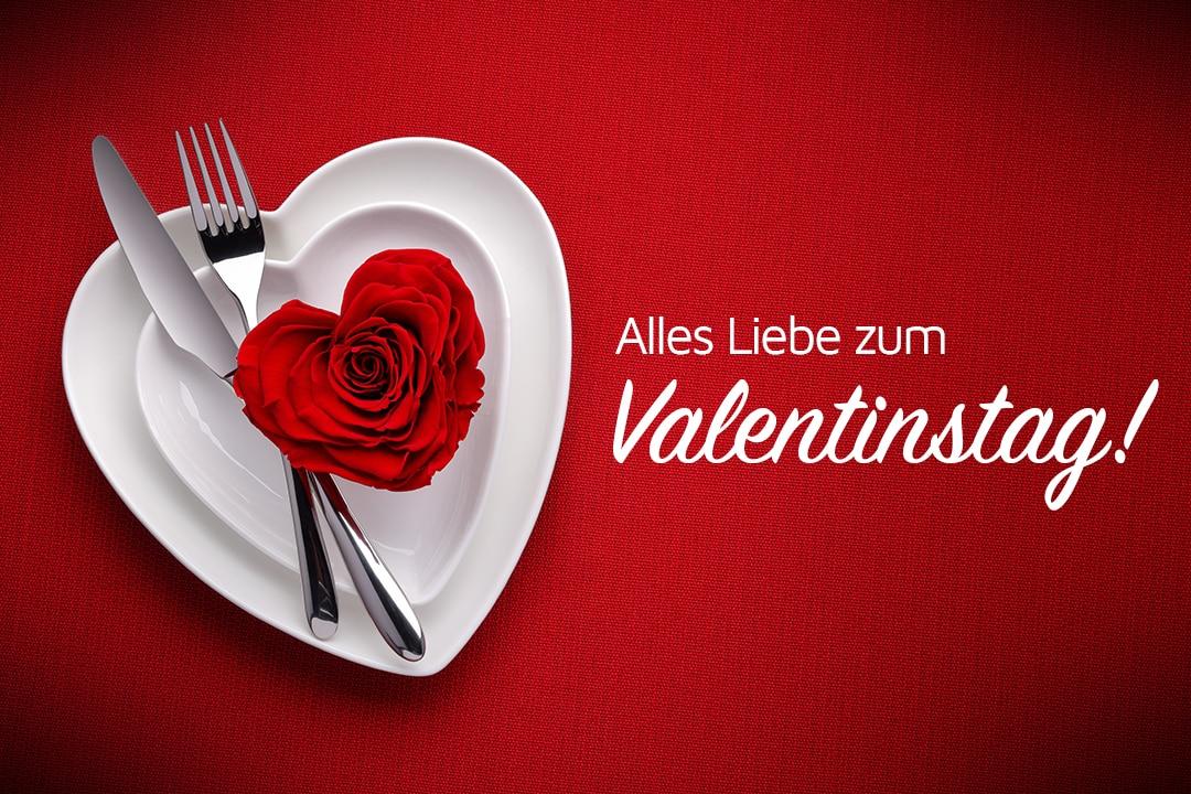 Geschenk-Gutschein zum Valentinstag für Deinen Schatz